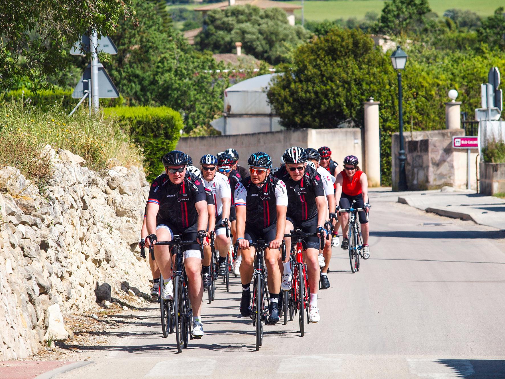 Veien til Mallorca. På sykkel